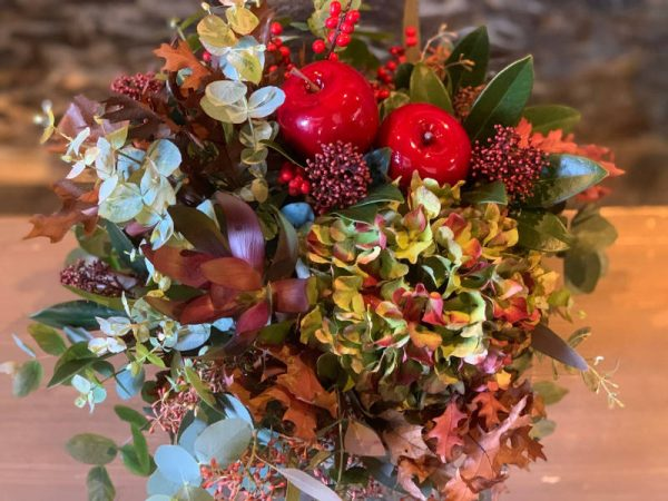 flores otoñal APPLE