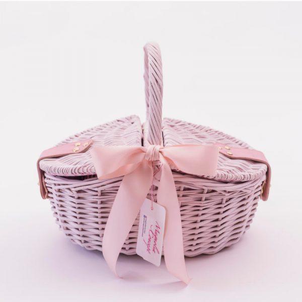cesta picnic princesa rosa magnolia