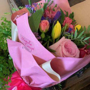 Ramo Iris flores dia madre